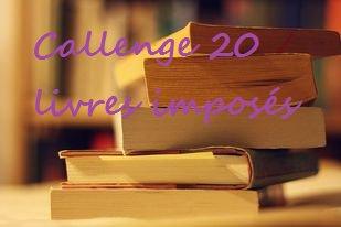 Challenge 20 livres imposés