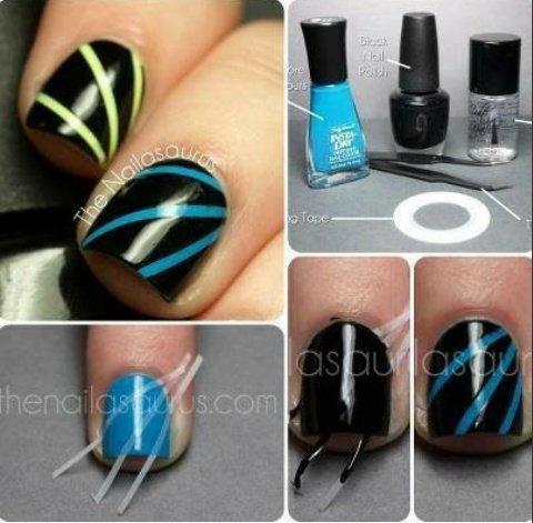 Tuto nail art 3