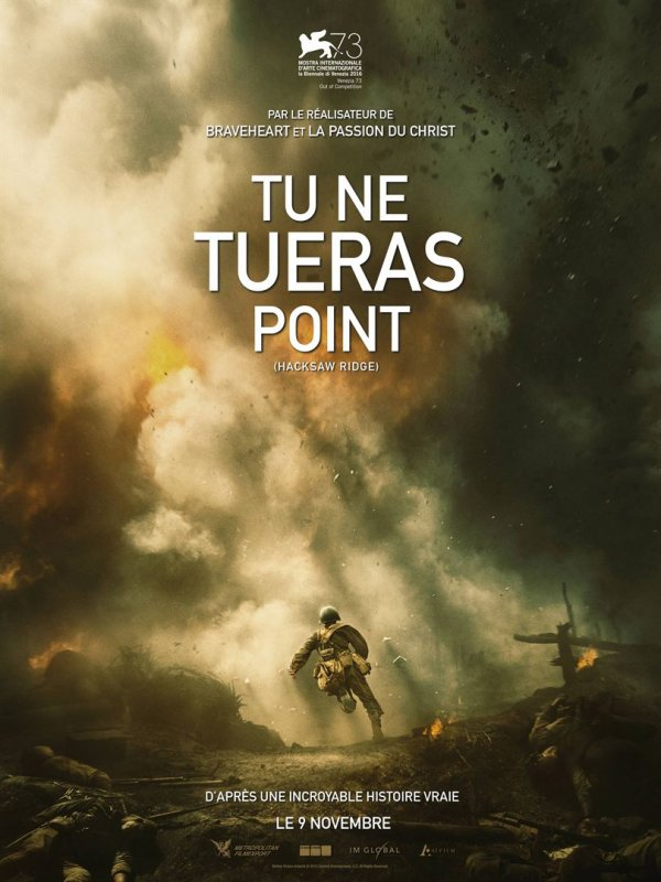 Tu ne tueras point - Film 2016
