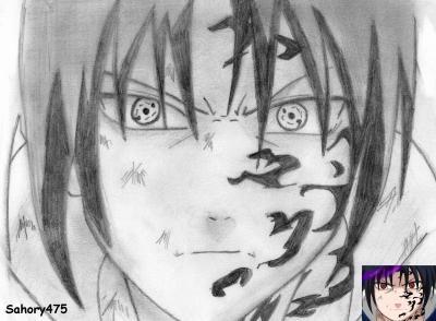 Sasuke uchiwa 2 oo le blog du panda oo - Dessin naruto et sasuke ...