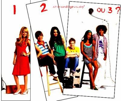 Vous préférez high school musical 1, 2 ou 3 ?