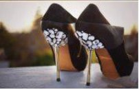 Customisation Chaussures Effet Glamour#