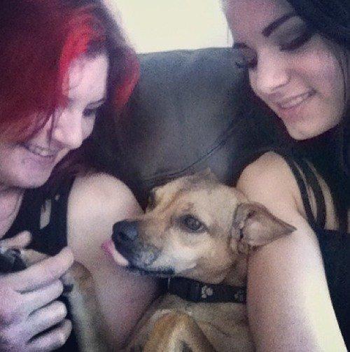 Paige et sa maman