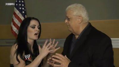 Paige avec Dusty Rhodes