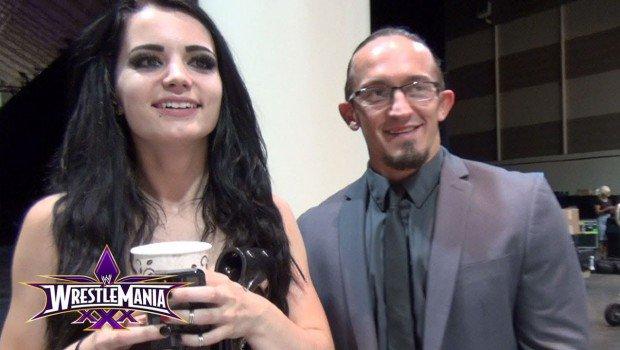 Paige a Wrestlemania