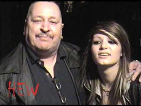 Paige et son père Ricky Knight