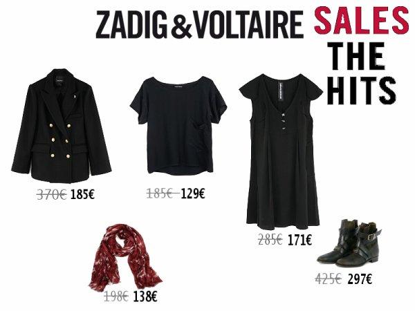 """""""Solde"""" Zadig&Voltaire"""