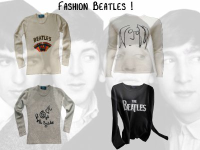 The Beatles pour Hobbs Cashmere