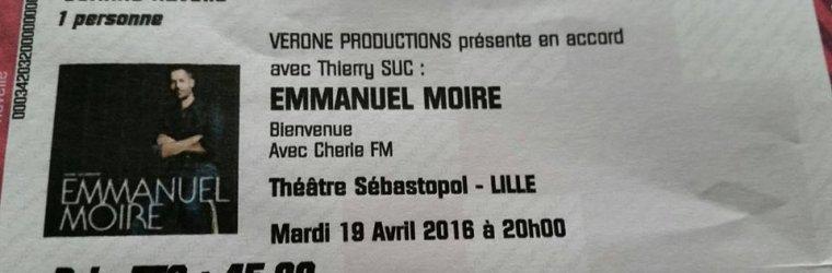 Ma prochaine date de concert ce sera avec MANU le 19 AVRIL A Lille sur la rencontre, théâtre sébastopol