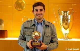 IFFHS : Casillas meilleur gardien de 2010 !