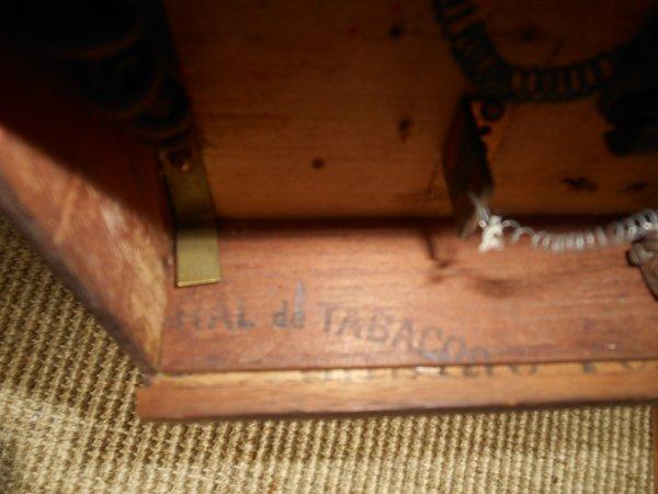"""Appareille de morce (si information complémentaire faites vous plaisir.!!!)il y a écrit au crayon à papier à l'intérieur """" 21 mai 1914"""""""