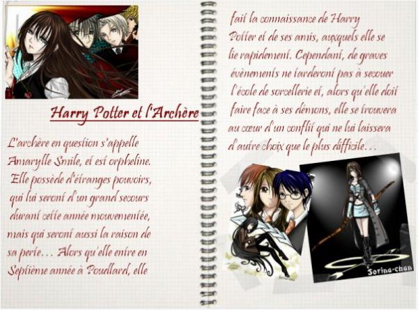 fiction n°26: Harry Potter et l'archère