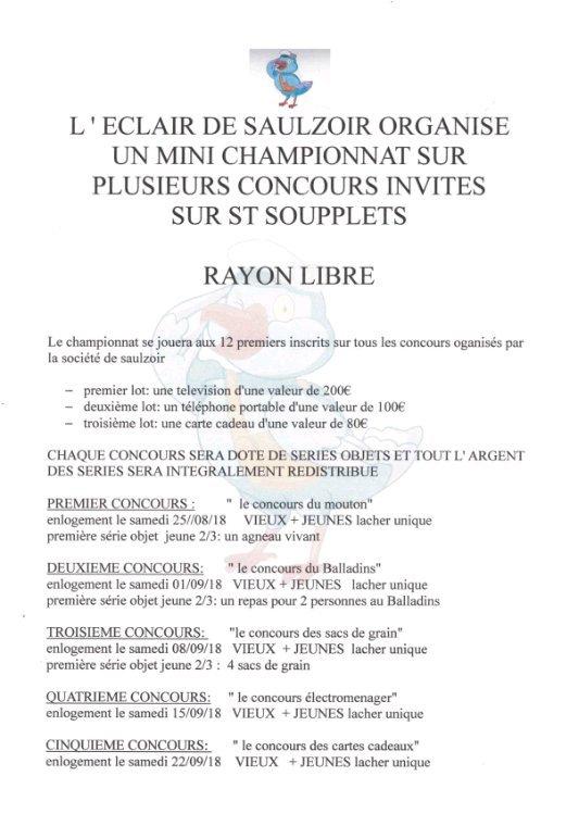 Concours invites saulzoir