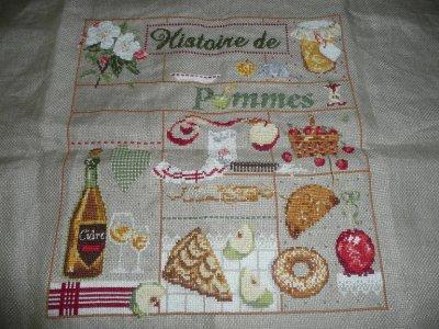 """SAL"""" Histoire de pommes"""" Madame la fée"""