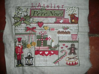"SAL "" Atelier du pére noël "" Madame la fée"