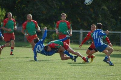 voila pk jkiff fair du rugby maitre des grosse cartouche !!!
