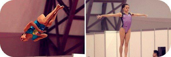 Larisa Iordache + Entraînement sur podium