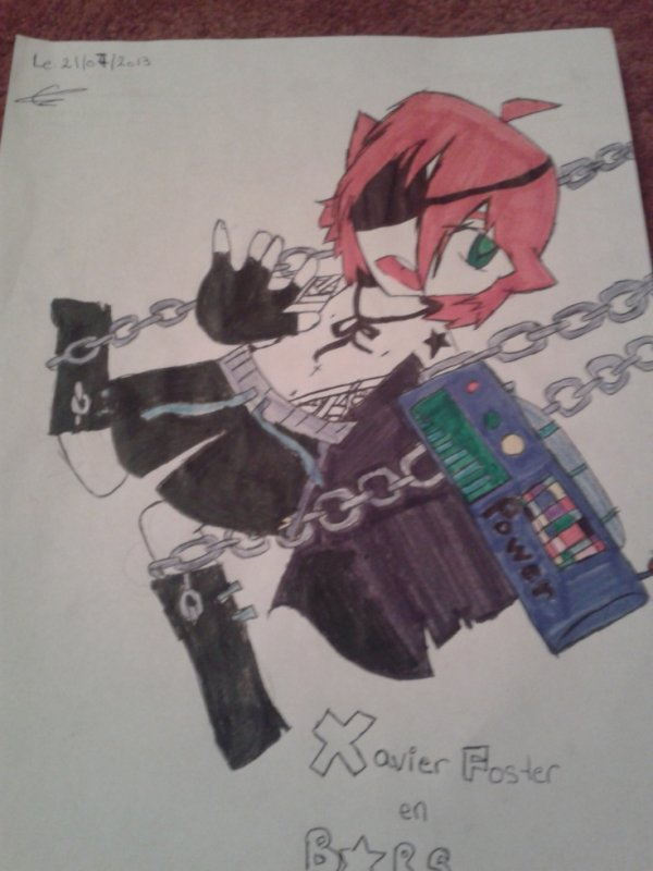 Xavier Foster Mode Black Rock Shooter
