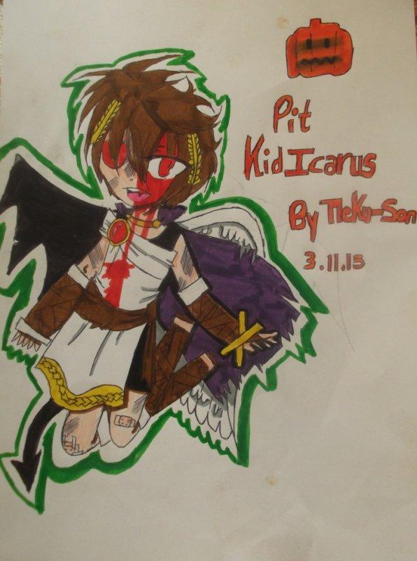 Pit de Kid Icarus Pour Halloween