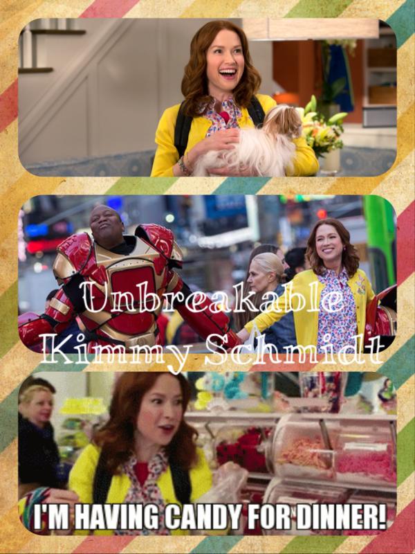 Nouveauté série : unbreakable Kimmy Schmidt