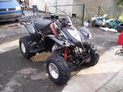 quad kymco 250 kxr