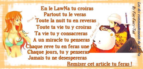 Les 10 commandements du LawNa