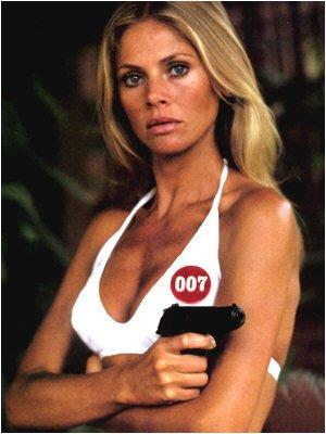 Jambes Bond Girl 1/