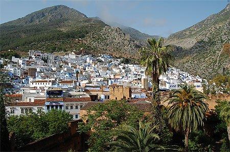 Chefchaouen  une ville du nord-est du Maroc