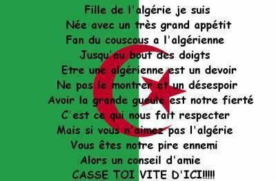 l'algerie mon amour , l'algerie dans mon coeur.
