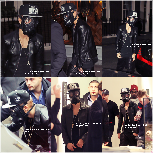 INSTAGRAM TIME, BELIEVE TOUR, ACNE, RIGHT  HERE 26/02/13