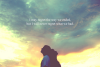 Pleurant souvent, pensant à toi, te regrettant.