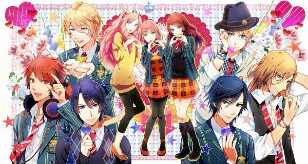 Anime Characters 2000 : Uta no prince sama maji love  encyclopedie manga