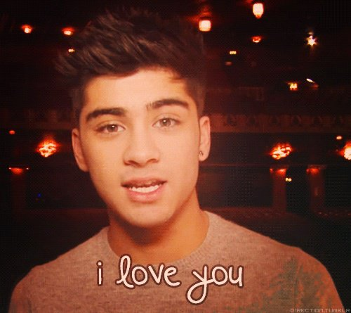 Nous aussi ont t'aiment Zayn !❤;)