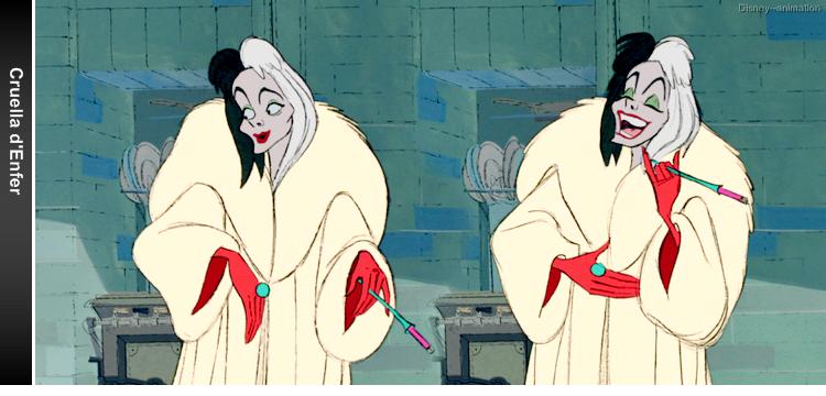 Article 18 - Personnage des 101 Dalmatiens : Cruella d'Enfer