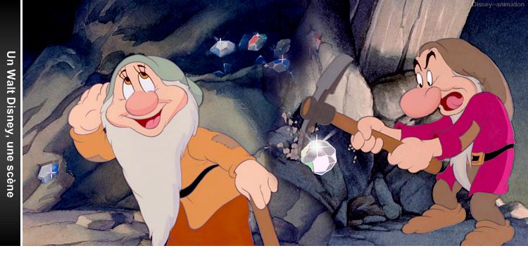 Article 21 - Un Walt Disney, une scène : Blanche-Neige et les sept nains