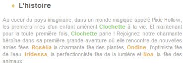 Article 24 - Walt Disney : La Fée Clochette