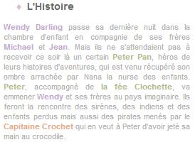 Article 25 - Walt Disney : Peter Pan