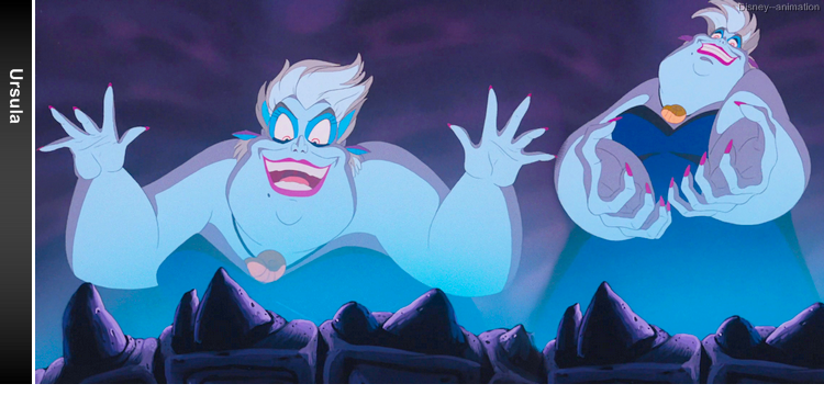 Article 26 - Personnage de La Petite Sirène : Ursula
