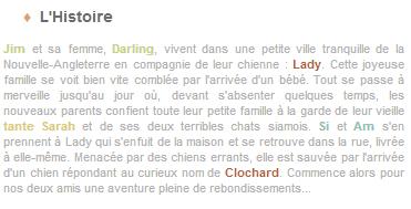 Article 37 - Walt Disney : La Belle et Le Clochard