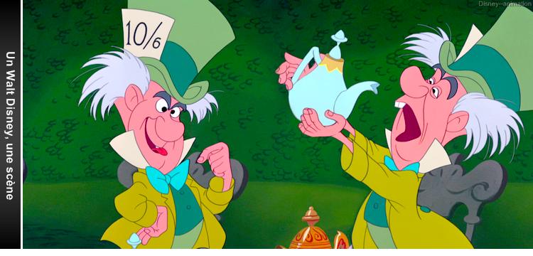 Article 41 - Un Walt Disney, une scène : Alice au pays des Merveilles