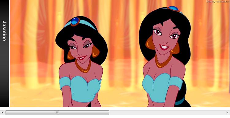 Article 58 - Personnage de Aladdin : Jasmine