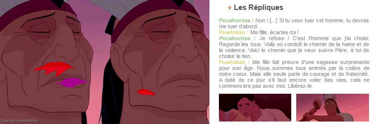 Article 59 - Walt Disney : Pocahontas