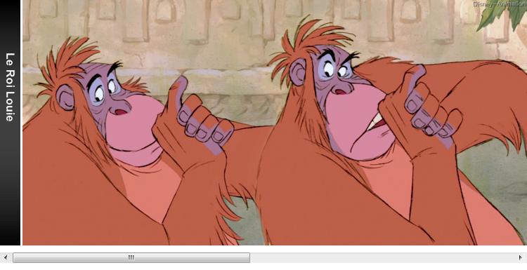 Article 65 - Personnage du Livre de la jungle : Le Roi Louie