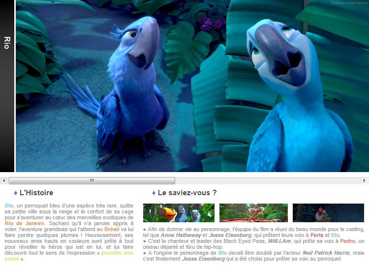 Article 68 - Blue Sky Studios : Rio 1