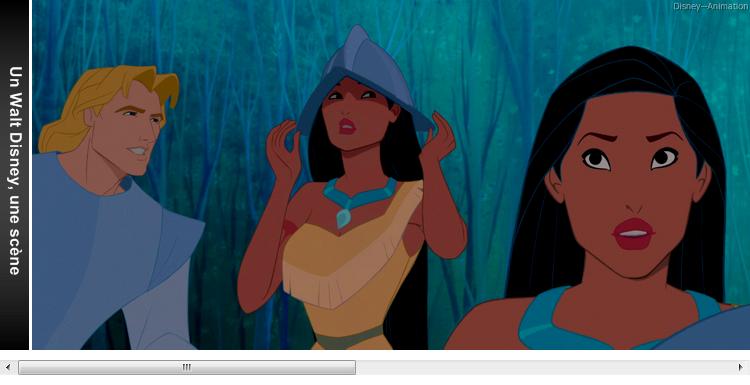 Article 73 - Un Walt Disney, une scène : Pocahontas