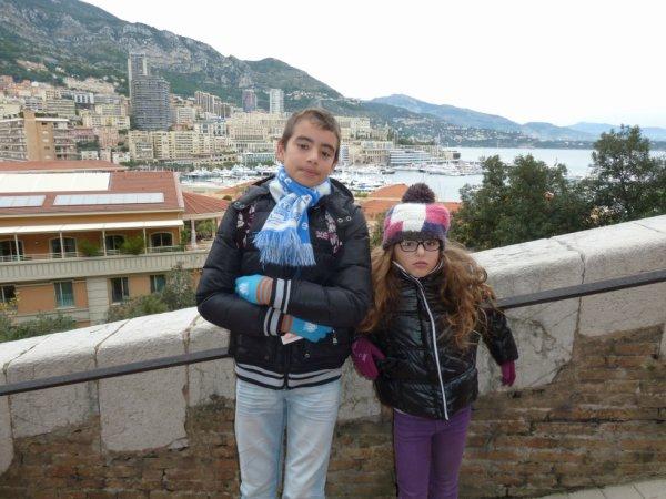 moi et ma soeur a monaco