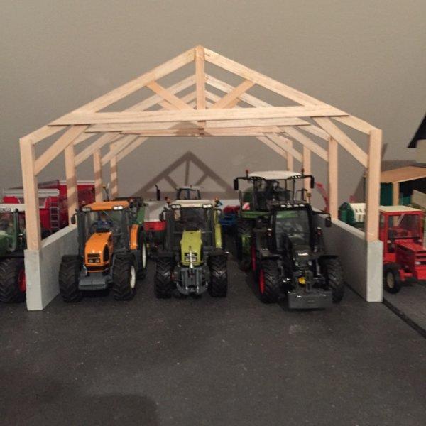 Construction du nouvel hangar !!!