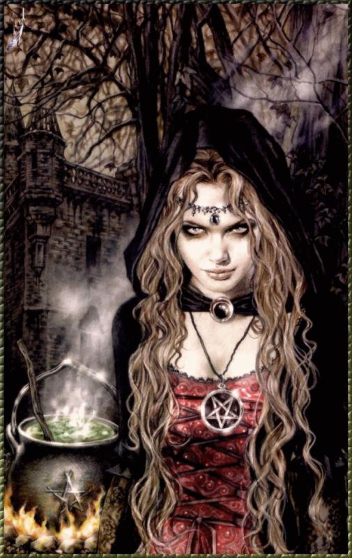 sorciere gothique