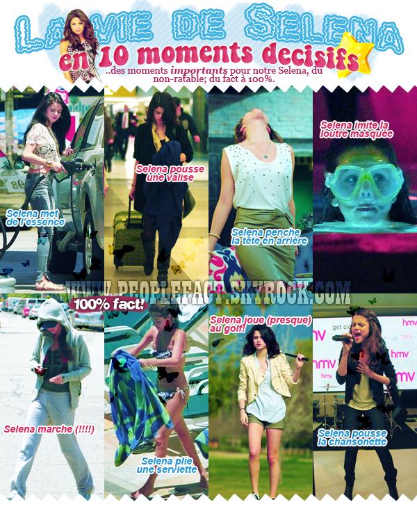 Bon anniversaire Selena Gomez! pour tes 20 ans, PeopleFact t'a préparé un (génial) article..