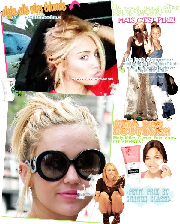 Miley Cyrus, alias Gnignia Montagnia.. elle a bien changé la petite! j'ai vraiment hâte de voir dans 3 ans :')